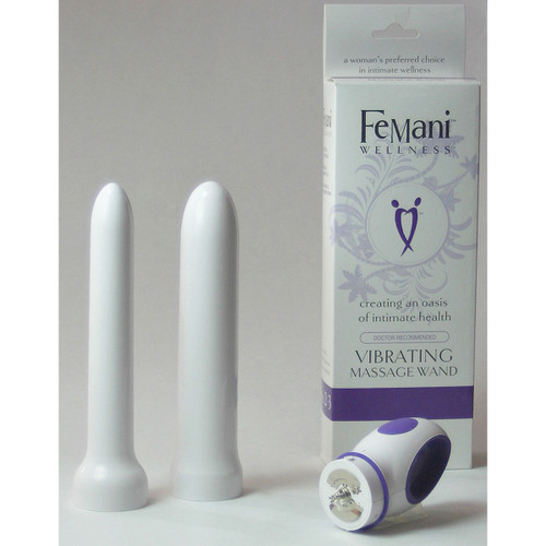 Vibrating Massage Wand Dilator Kit sizes 2 and 3 by FeMani Wellness