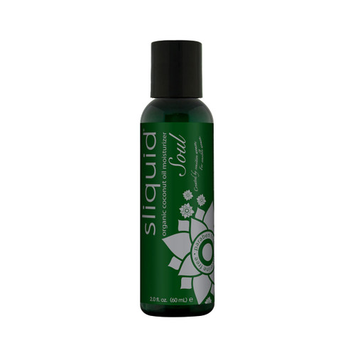 Soul Organic Coconut Oil Based Massage Oil by Sliquid