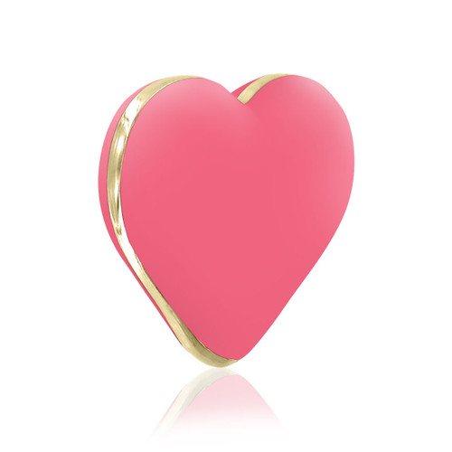 The Heart Vibe Heart Shaped Vibrator by Rianne S-Coral Rose