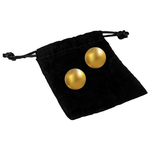 CG Oh K 24K Gold Plated Pleasure Balls