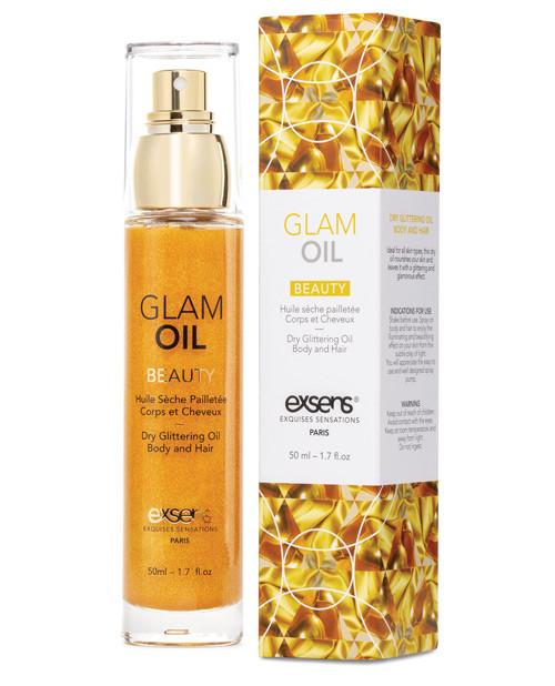 Exsens Paris Dry Glittering Body and Hair Glam Oil