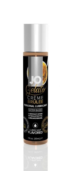 JO Gelato Flavored Water Based Lubricant by System JO-Creme Brulee