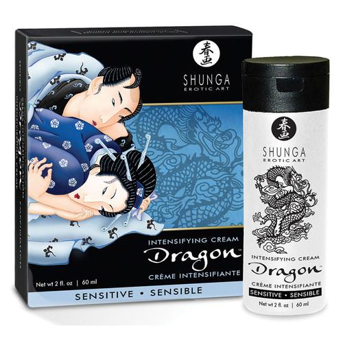 Dragon Intensifying Cream Sensitive by Shunga Erotic Art