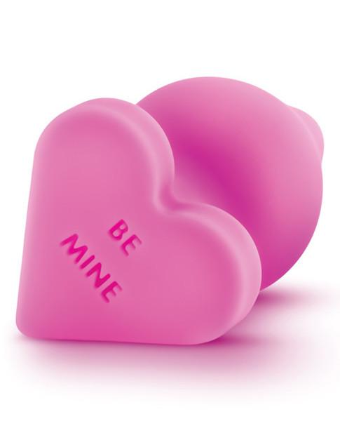 Naughty Candy Heart Anal Plug by Blush Novelties-Pink