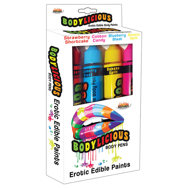 Bodylicious Edible Body Paint Pens