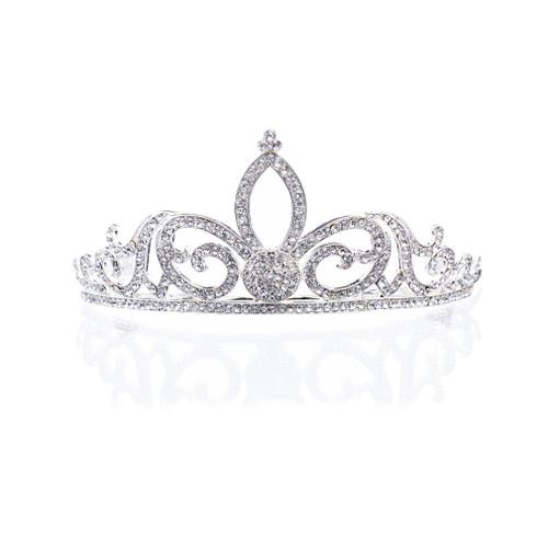 Bridal Wedding Jewelry Crystal Rhinestone Sophisticated Hair Headband Tiara