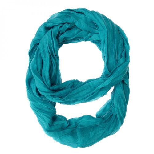 Turquoise Genevieve Infinity Scarf