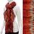 Gorgeous Unique Multi Color Ruffle Knit Fashion Scarf Red