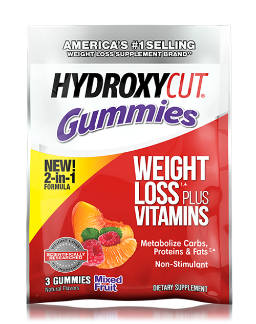 Hydroxycut Gummies Sample