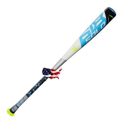 2018 Louisville Slugger Solo 618 Alloy Youth 2018+ Baseball Bat, -11 Drop, 2-5/8 in Barrel, #WTLUBS618B11