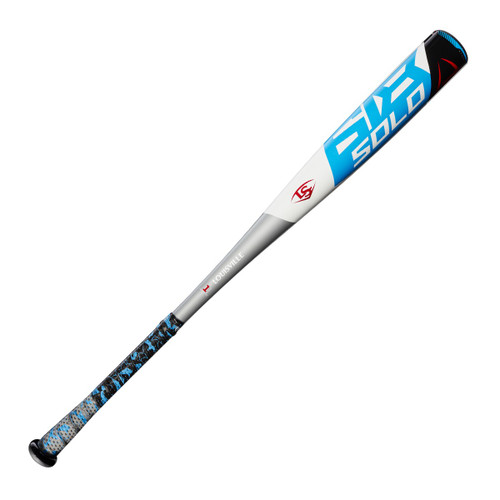 2018 Louisville Slugger Solo 618 Alloy BBCOR Baseball Bat, -3 Drop, 2-5/8 in Barrel, #WTLBBS618B3