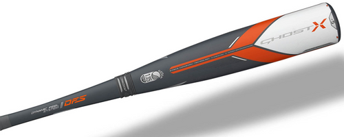 2018 Easton Ghost X Composite USSSA Baseball Bat, -5 Drop, 2-3/4 in Barrel, SL18GX5