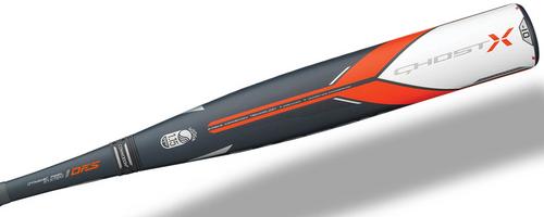 2018 Easton Ghost X Composite USSSA Baseball Bat, -10 Drop, 2-3/4 in Barrel, SL18GX10