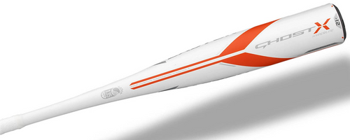 2018 Easton Ghost X Hyperlite Composite Senior League Baseball Bat, -12 Drop, 2-3/4 in Barrel, #SL18GXHL12