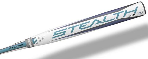 2018 Easton STEALTH FLEX Composite Fastpitch Softball Bat, -10 Drop, 2-1/4 in Barrel, FP18SF10