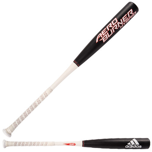 2017 adidas Aero Burner Hybrid BBCOR Baseball Bat, -3 Drop, 2-5/8 in Barrel, CF7488