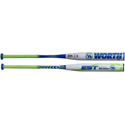 2018 Worth EST Comp Balanced 12.5″ USSSA Slow Pitch Softball Bat, W125EB