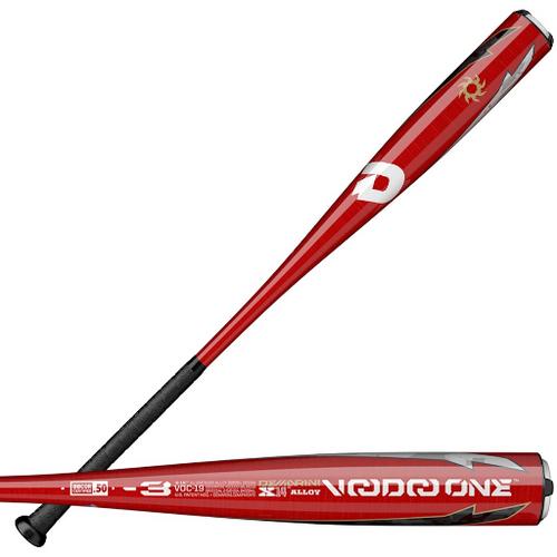 2019 DeMarini Voodoo One Alloy BBCOR Baseball Bat, -3 Drop, 2-5/8 in Barrel, WTDXVOC-19