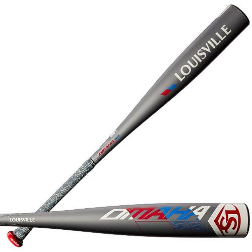 2019 Louisville Slugger Omaha 519 Alloy USSSA Senior League Baseball Bat, -5 Drop, 2-5/8 in Barrel, WTLSLO519B5