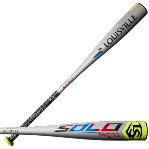 2019 Louisville Slugger Solo SPD Alloy Youth 2018+ Baseball Bat, -13 Drop, 2-1/2 in Barrel, WTLUBSS19M13