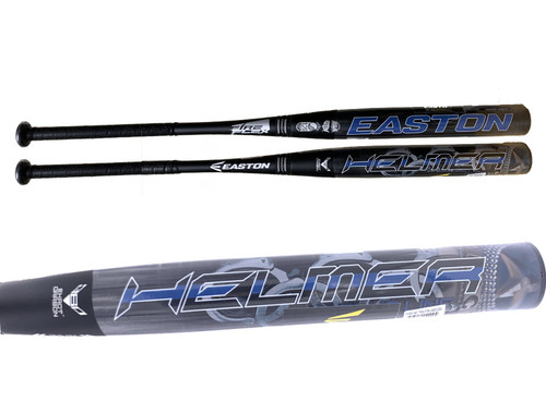 2019 Easton Brett Helmer Police Worlds Blue Line Shield FF2 USSSA Loaded Slowpitch Softball Bat, SP19BHLU