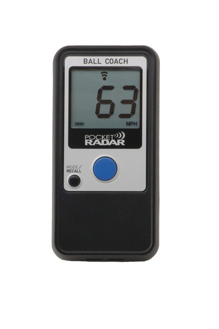 Pocket Radar Ball Coach, Pro-Level Speed Trainer & Radar Gun, Item #PR1000-BC
