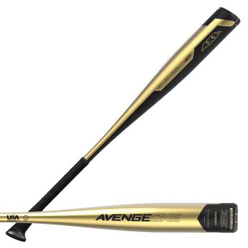 2019 Axe Avenge One Composite Youth 2018+ Baseball Bat, -10 Drop, 2-5/8 in Barrel, L164G