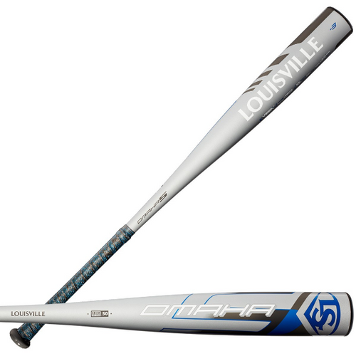 2020 Louisville Slugger Omaha Alloy BBCOR Baseball Bat, -3 Drop, 2-5/8 in Barrel, WTLBBO520B320