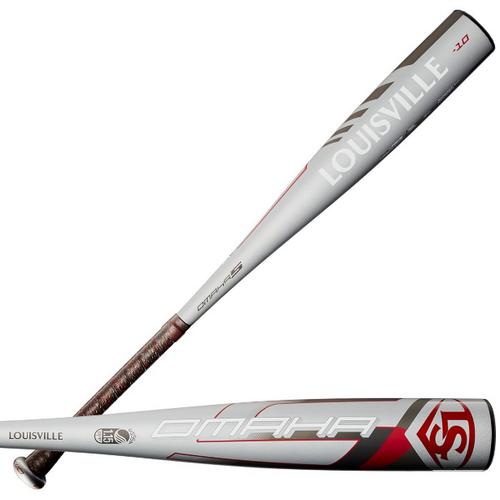2020 Louisville Slugger Omaha Alloy USSSA Senior League Baseball Bat, -10 Drop, 2-3/4 in Barrel, WTLSLO5X1020