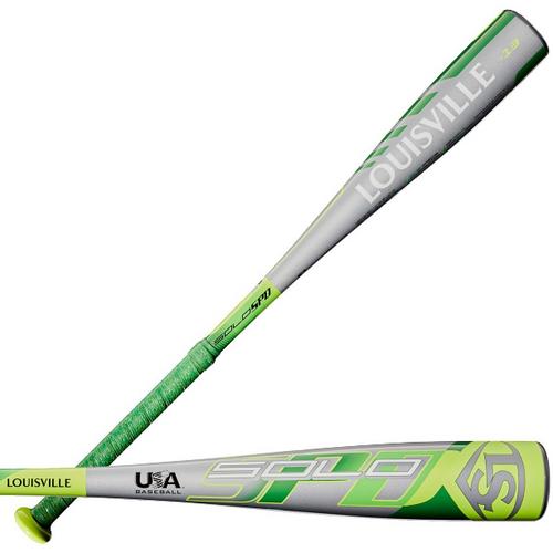 2020 Louisville Slugger Solo SPD Alloy Youth 2018+ Baseball Bat, -13 Drop, 2-1/2 in Barrel, WTLUBSSM1320