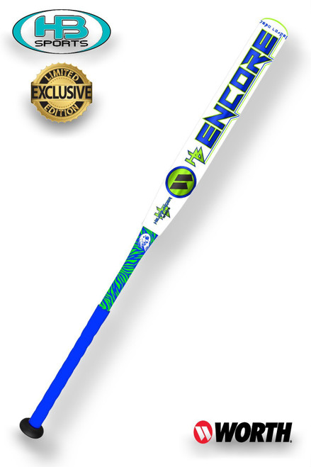 2017 Worth Encore Exclusive USSSA Slow Pitch Softball Bat, WENHBU