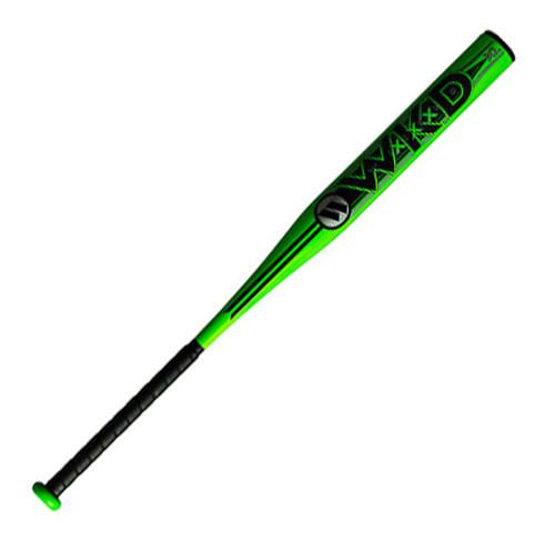2019 Worth Wicked XXX XL SSUSA Senior Slow Pitch Softball Bat, 13.5 in Barrel, WWICKD