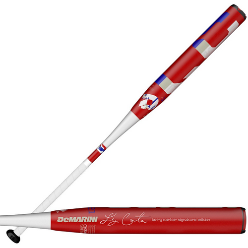 2020 DeMarini Larry Carter Signature SSUSA Senior Slow Pitch Softball Bat, 13.0 in Barrel, WTDXSNM-20