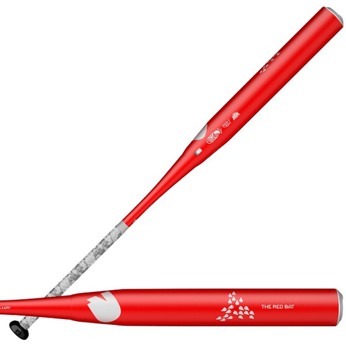 2020 DeMarini The Red Bat Endloaded USSSA Slowpitch Softball Bat, 13.0 in Barrel, WTDXTRB-20