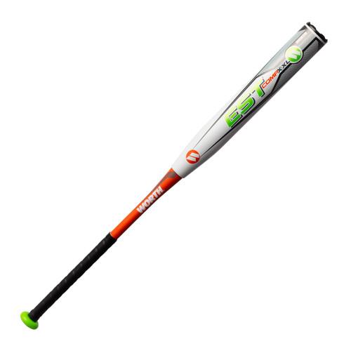 2019 Worth EST Comp XXL USSSA Slow Pitch Softball Bat, 12.5 in Barrel, WEXXLU