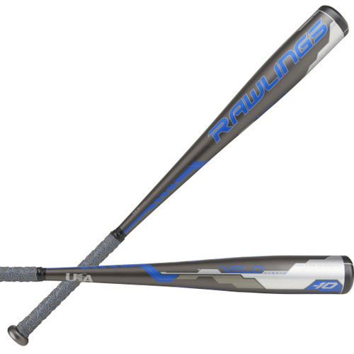 2018 Rawlings Velo Alloy Youth 2018+ Baseball Bat, -10 Drop, 2-5/8 in Barrel, US8V10