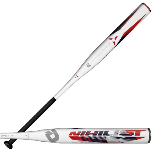 2021 DeMarini Nihilist USA ASA Slow Pitch Softball Bat, 12.0 in Barrel, WTDXNIA-21