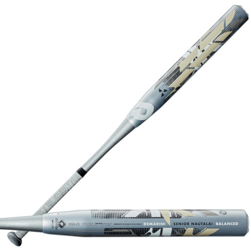 2021 DeMarini Senior Nautalai SSUSA Senior Slow Pitch Softball Bat, 13.0 in Barrel, WTDXSNS-21