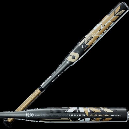 2021 DeMarini Senior Nautalai Midload SSUSA Senior Slow Pitch Softball Bat, 13.0 in Barrel, WTDXSNM-21