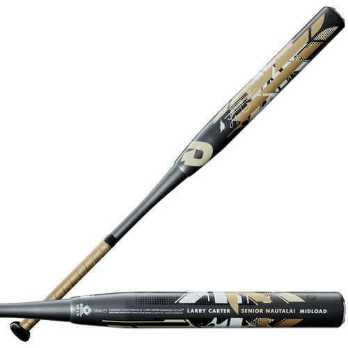 2021 DeMarini Senior Nautalai Midload SSUSA Senior Slow Pitch Softball Bat, 13.0 in Barrel, WTDXSNM-21