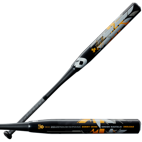 2021 DeMarini Senior Nautalai Endload SSUSA Senior Slow Pitch Softball Bat, 13.0 in Barrel, WTDXSNC-21