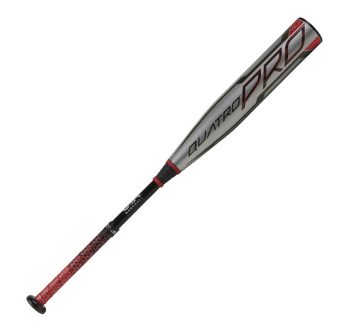 2021 Rawlings Quatro Pro Composite Youth 2018+ Baseball Bat, -10 Drop, 2-5/8 in Barrel, US1Q10