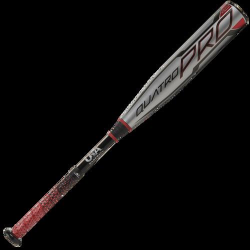 2021 Rawlings Quatro Pro Composite Youth 2018+ Baseball Bat, -12 Drop, 2-5/8 in Barrel, US1Q12