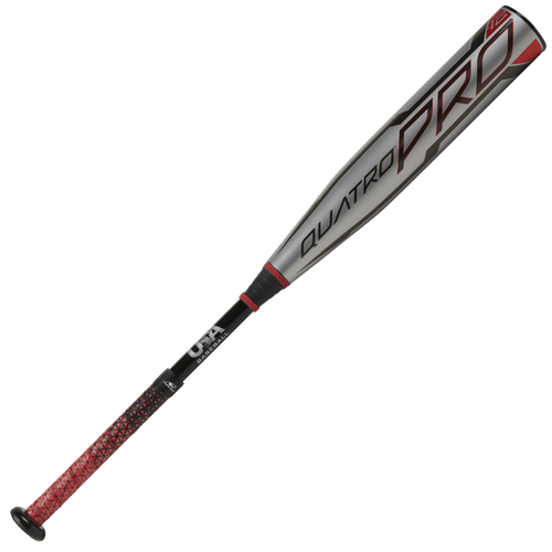 2021 Rawlings Quatro Pro Composite Youth 2018+ Baseball Bat, -12 Drop, 2-5/8 in Barrel, US1Q12