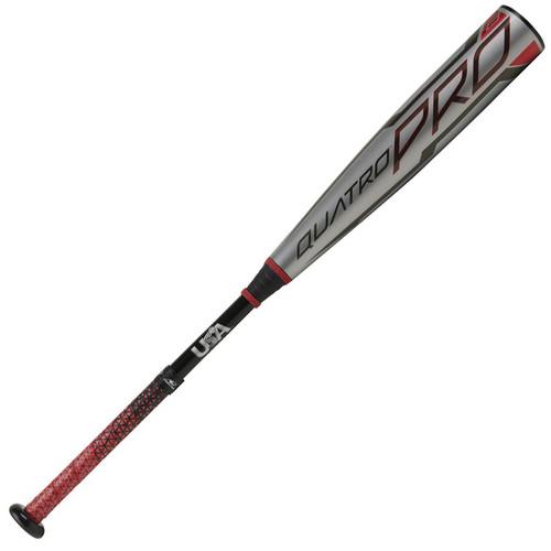2021 Rawlings Quatro Pro Composite Youth 2018+ Baseball Bat, -8 Drop, 2-5/8 in Barrel, US1Q8
