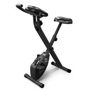 The Marcy Foldable X Bike in Black NS-654 is a convenient low-impact method of getting an intense cardio workout