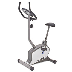 The Marcy Magnetic Resistance Upright Bike NS-1201U is a convenient low-impact method of getting an intense cardio workout
