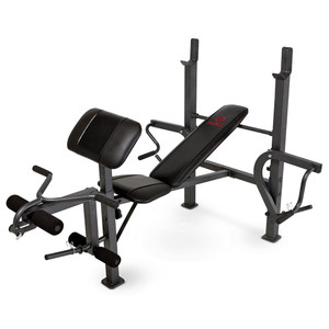 The Marcy Diamond Elite Standard Weight Bench MD-389 is essential to building the best home gym