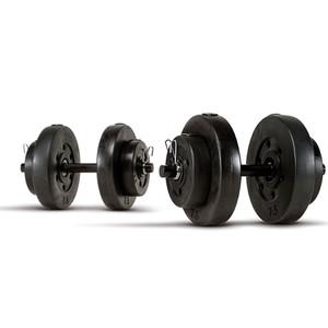 40 lbs. Vinyl Dumbbell Weight Set by Marcy will complete your home gym