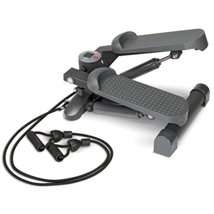 The Mini Stepper with Bands Marcy MS-69 delivers a high intensity workout anywhere